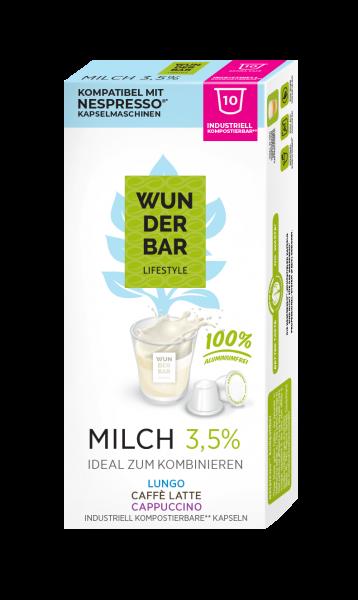 Wunderbar Lifestyle Milch - 10 Kapseln