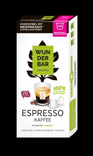 Wunderbar Lifestyle Espresso - 10 Kapseln