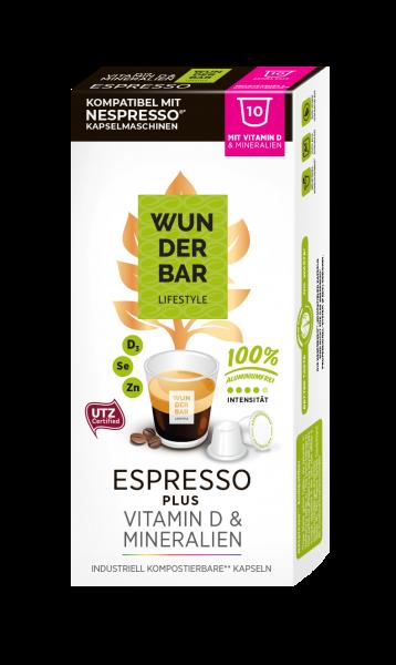 Wunderbar Lifestyle Espresso Plus - 10 Kapseln